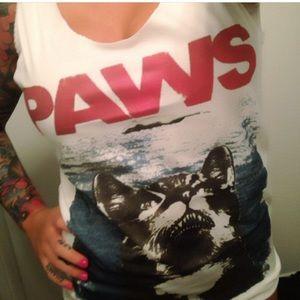 Tops - Paws cat tank